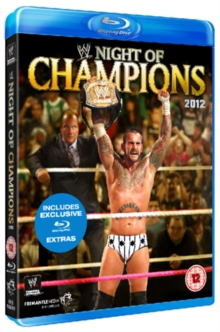 WWE: Night of Champions 2012, Blu-ray