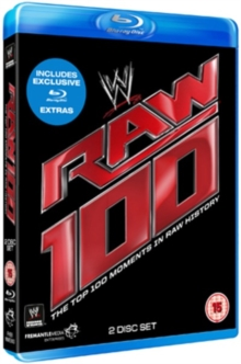WWE: Raw - The Top 100 Moments in Raw History, Blu-ray  BluRay