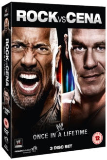 WWE: Rock Vs Cena - Once in a Lifetime, DVD