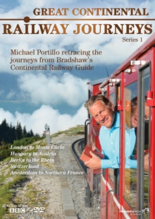 Great Continental Railway Journeys: Series 1, DVD