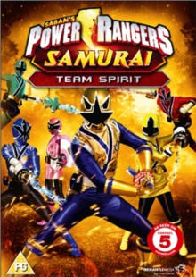 Power Rangers Samurai: Volume 3 - Team Spirit, DVD