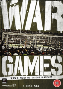 WWE: War Games - WCW's Most Notorious Matches, DVD  DVD