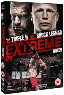 WWE: Extreme Rules 2013, DVD