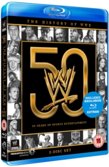 WWE: The History of WWE - 50 Years of Sports Entertainment, Blu-ray