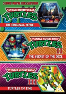 Teenage Mutant Ninja Turtles: The Movie Collection, DVD
