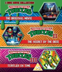 Teenage Mutant Ninja Turtles: The Movie Collection, Blu-ray  BluRay