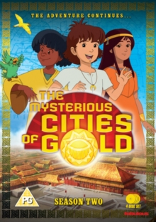 The Mysterious Cities of Gold: Season 2 - The Adventure Continues, DVD