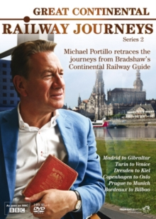 Great Continental Railway Journeys: Series 2, DVD