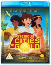 The Mysterious Cities of Gold: Season 2 - The Adventure Continues, Blu-ray