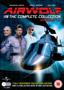 Airwolf: Series 1-3, DVD