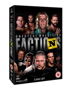 WWE: Wrestling's Greatest Factions, DVD  DVD