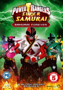 Power Rangers Super Samurai: Volume 3 - Samurai Forever, DVD