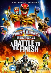 Power Rangers - Megaforce: A Battle to the Finish, DVD