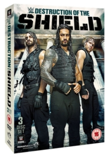 WWE: The Destruction of the Shield, DVD  DVD