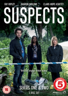 Suspects: Series 1 and 2, DVD  DVD
