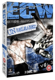 WWE: ECW - Unreleased Volume 3, DVD  DVD