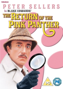 The Return of the Pink Panther, DVD