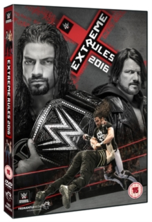 WWE: Extreme Rules 2016, DVD DVD