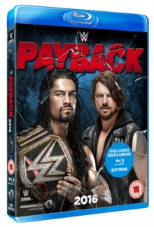 WWE: Payback 2016, Blu-ray