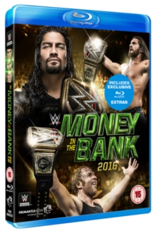 WWE: Money in the Bank 2016, Blu-ray