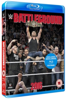 WWE: Battleground 2016, Blu-ray