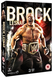 WWE: Brock Lesnar - Eat. Sleep. Conquer. Repeat., DVD