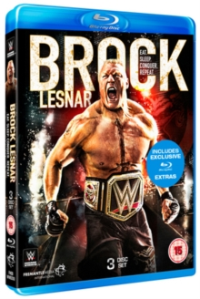 WWE: Brock Lesnar - Eat. Sleep. Conquer. Repeat., Blu-ray
