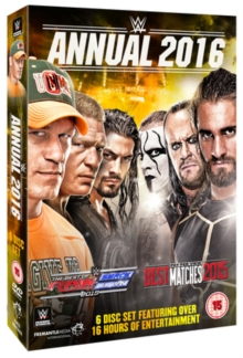 WWE: 2016 Annual, DVD DVD
