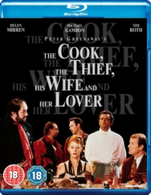 Cook, the Thief, His Wife and Her Lover, Blu-ray