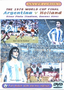 The 1978 World Cup Final - Argentina Vs Holland, DVD