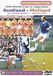 The 1978 World Cup - Scotland Vs Holland, DVD