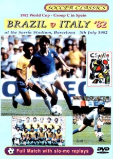 1982 World Cup Group C in Spain - Brazil V Italy, DVD