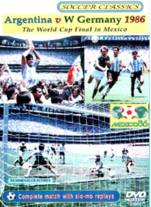 Argentina V West Germany 1986 - The World Cup Final in Mexico, DVD
