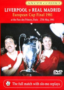 1981 European Cup Final - Liverpool V Real Madrid, DVD