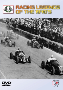 Racing Legends of the 1940s, DVD