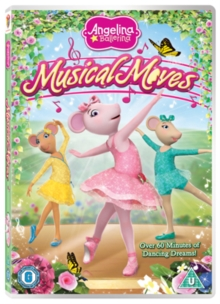 Angelina Ballerina: Musical Moves, DVD  DVD