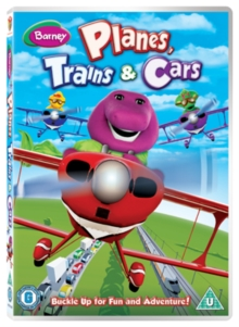 Barney: Planes, Trains and Cars, DVD
