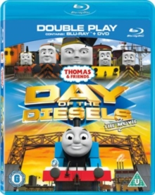 Thomas the Tank Engine and Friends: Day of the Diesels - Movie, Blu-ray  BluRay