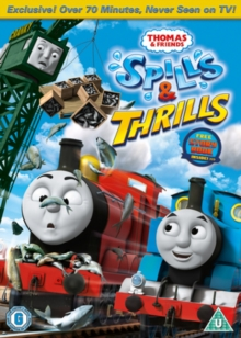 Thomas the Tank Engine and Friends: Spills and Thrills, DVD