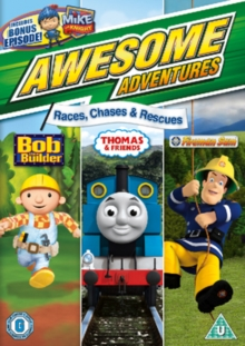 Awesome Adventures: Races, Chases and Rescues, DVD