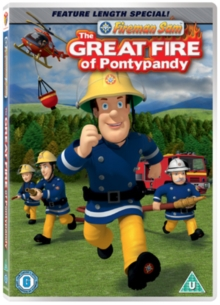 Fireman Sam: The Great Fire of Pontypandy, DVD
