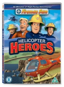 Fireman Sam: Helicopter Heroes, DVD
