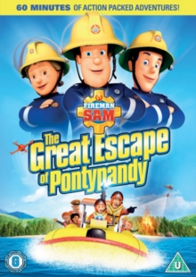Fireman Sam: The Great Escape of Pontypandy, DVD DVD