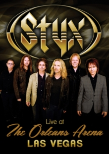 Styx: Live at the Orleans Arena, DVD