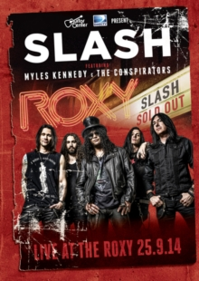Slash Featuring Myles Kennedy and the Conspirators: Live At..., DVD DVD