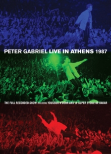 Peter Gabriel: Live in Athens 1987, DVD