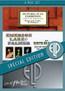 Emerson, Lake and Palmer: Pictures at an Exhibition/The Birth..., DVD