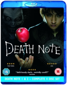 Death Note 1 and 2, Blu-ray
