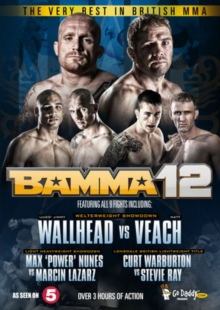 The Very Best in British MMA: BAMMA 12, DVD