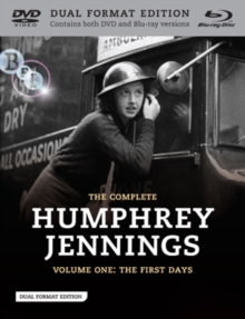 The Complete Humphrey Jennings: Volume 1 - The First Days, DVD